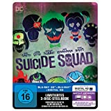 Suicide Squad - Steelbook  inkl. Blu-ray Extended Cut (exklusiv bei Amazon.de) [3D Blu-ray]