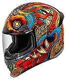 Icon Airframe Pro Barong arancione/Multi casco moto