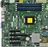 Supermicro X11SSM Server/Workstation LGA 1151 Presa H4, Intel C236 microATX