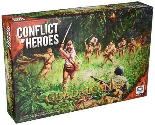 Academy Games ACA05014 Conflict of Heroes: Guadalcanal, Brettspiel -