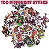Superheros Pack of 100 Laptop Stickers(100pcs) Laptop Stickers for Water Bottles,Vinyl Stickers for Laptops, Skateboard Luggage Decal Graffiti Patches Stickers in Bulk