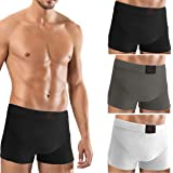 F&S Men's Boxer Shorts Set of 3 Retro Shorts Hipster Underwear Men's Underwear Briefs Breathable Stretch Underwear Basic
