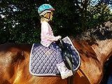 Voltigiergurt 2 Fußschlaufen Gurt voltigieren Reithilfe Reitgurt a.f. Holzpferd Mini Shetty Shetty Pony VB WB/KB HIER Shetty