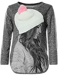 BEZLIT Mädchen Pullover 3D Motive Sweatshirt 21594