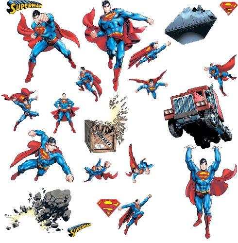 Superman: Day Of Doom Peel & Stick Wandtattoos -
