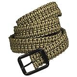 Gürtel Parachute Cord / Fallschirmleine oliv Größe 3