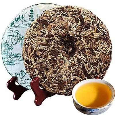 357g (0,787LB) vieux thé Pu'er vieux thé Puer mûr Moonlight blanc vieux thé noir thé cuit thé Pu-erh thé Pu erh thé chinois thé sain thé Puerh thé rouge