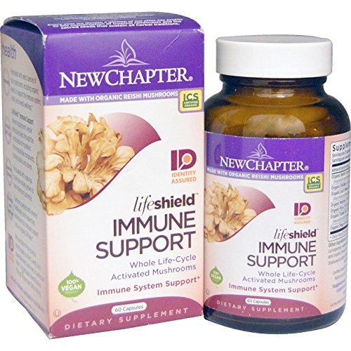 New Chapter Lifeshield Immune Support 60 Capsules
