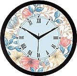 #9: IT2M 11.75 inch Wall Clock - Retro/Vintage Design (9155)