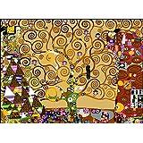 'SEG de Paris Tapestry/bordar Lienzo–el árbol de la vida después de Klimt