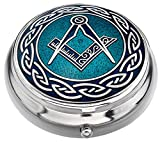 Pill Box with Masonic Design by Celtic Lands