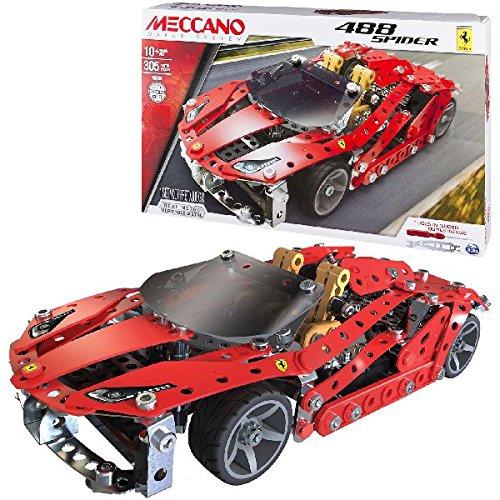 Meccano 6028974 - Ferrari 488 Spider Set Costruzioni