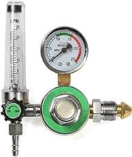 Rishil World Argon CO2 Gas Mig Tig Flow Meter Welding Weld Regulator Gauge Welder GGA580 Fits