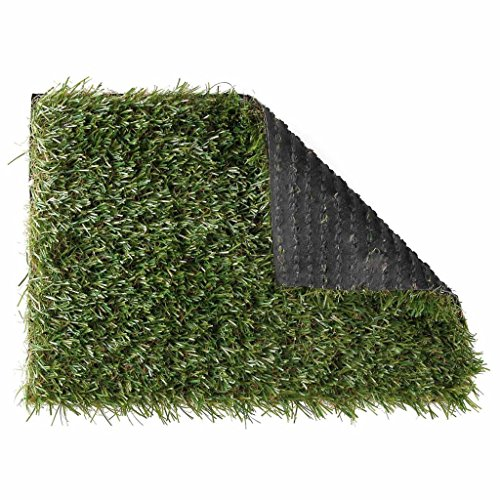 Nature Tapis Pelouse artificielle Gazon synthétique 1 x 4 m Verte 6030570