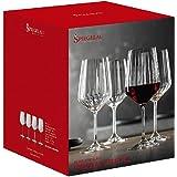 Spiegelau & Nachtmann Spiegelau LifeStyle 4450171 Rodewijnglazen, set van 4 stuks, kristalglas, 630 ml