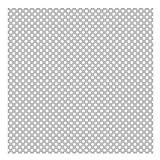 Kinderzimmer Tapeten - Vliestapeten Premium - Punkte in Weiß auf Grau - Fototapete Quadrat Vlies Tapete Wandtapete Wandbild Foto 3D Fototapete, Größe HxB: 192cm x 192cm