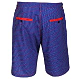 """New York Giants NFL """"Dots"""" Men's Casual Polyester Walking Shorts - 2"""