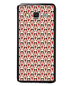 PrintVisa Designer Back Case Cover for Samsung Galaxy A5 (2015) :: Samsung Galaxy A5 Duos (2015) :: Samsung Galaxy A5 A500F A500Fu A500M A500Y A500Yz A500F1/A500K/A500S A500Fq A500F/Ds A500G/Ds A500H/Ds A500M/Ds A5000 (Intelligent Life Heart Beautiful Extra Terrestrial)