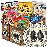 60. Geburtstag | DDR Schoko Geschenk | Geschenke Geburtstag für Sie
