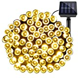 LE Outdoor Solar String Lights, 200 LEDs 20m LED Fairy Lights, Waterproof, Warm White,8 modes,Christmas Lights,Ambiance Lighting, Outdoor and Indoor Use, Wedding, Party Lights Decoration