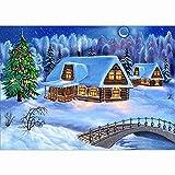 mxjeeio 5D Diamant Stickerei Full Drill DIY Diamond Painting Dekoration Weihnachten
