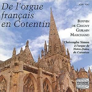 Orgue français en Cotentin