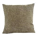 federe cuscino divano CLOOM,cuscini divano divano letto arredamento casa federa cuscino tinta unita Stampa divano Bed Home Decorazione Custodia Festival Cuscino 45cm*45cm(A,1PC)