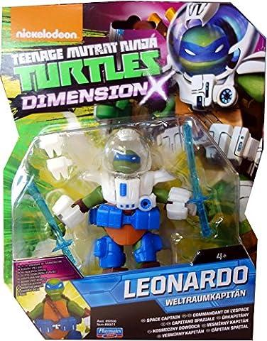 Leonardo Weltraumkapitän TMNT Teenage Mutant Ninja Turtles Dimension X Basis Figur