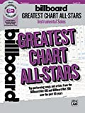 Billboard Greatest Chart All-Stars Instrumental Solos: Top Performing Songs and Artists from the Billboard Hot 100 and Billboard Hot 200 Over the Past
