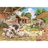 Puzzels Houten puzzel van 1000 stukjes voor volwassenen of kinderen Dierlijk varken Groot puzzelspeelgoed Creatief kunstwerk Cadeau voor woondecoratie Elk stuk is uniek