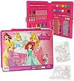 Unbekannt 68 tlg. Set __ Stifte-Koffer -  Disney Princess - Arielle & Rapuzel  - Malk..
