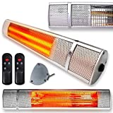 Best Infrared Heaters - Futura Deluxe Wall Mounted Electric Infrared Outdoor Garden Review