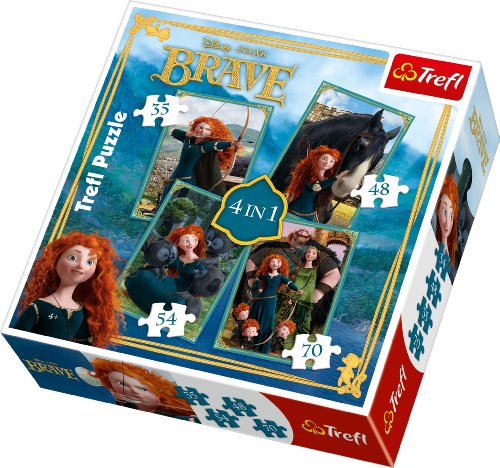trefl-4w1-merida-waleczna-disney-merida-the-brave-disney-34130-puzzle