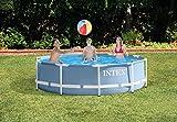 Intex Prism Frame Pool - Aufstellpool - Ø 305 x 76 cm - Mit Filteranlage