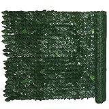 Siepe sintetica giardino con foglie di edera Cm 1x20 m Evergreen Edera