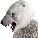 Carnival Toys 1490 Maske Eisbär, one Size