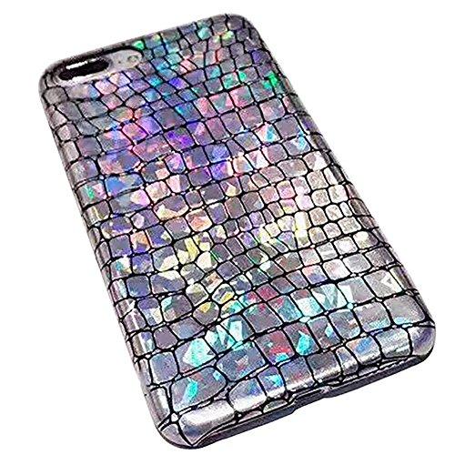 UMCCC Handy Fall iPhone 7 Plus / 8 Plus Europa Und Amerika Blitz Farbe Persönlichkeit TPU (Vuitton Fall Louis Samsung)