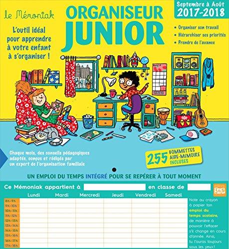 Organiseur Junior Mémoniak 2017-2018