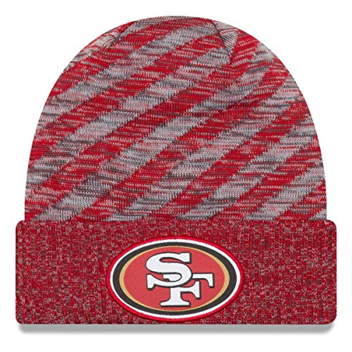 New Era NFL Sideline 2018 Strick Mütze - San Francisco 49ers (New Era Hut-sf)