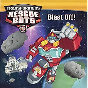 Transformers Rescue Bots: Blast Off! by Lucy Rosen (Ch (2015-06-02)