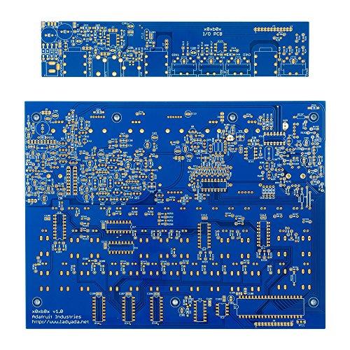 AdaFruit Ladyada's x0xb0x Synth Kit - PCB Set