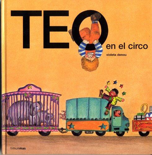 Teo en el circo por Violeta Denou