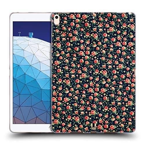 Head Case Designs Korall Vintage Blumen Soft Gel Huelle kompatibel mit iPad Air (2019) -