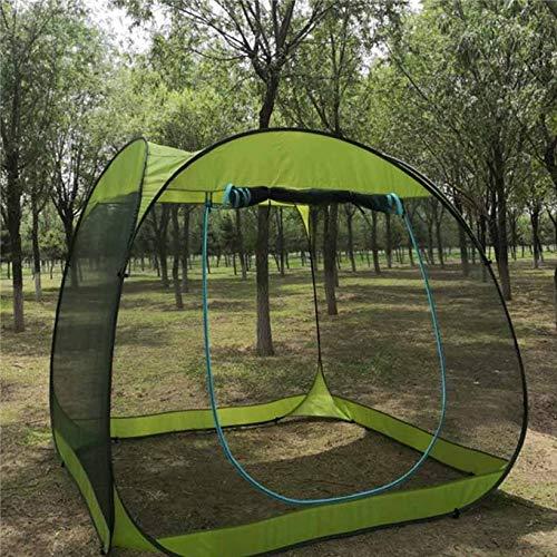 WXJY Moskitonetze Yoga Station Haufen Garten Tees Spielkarten Polyesterfaserabweisend Schuppen Zelte Länge 2,4 Meter hoch 2 Meter Green -