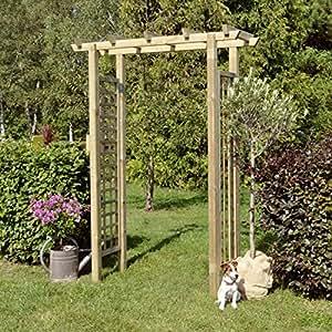 Gartenpirat Pergola pour rosiers grimpants 160 x 210 cm