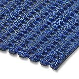 etm Sicherheitsmatte gegen Glätte | Blau | rutschfeste Granulat Beschichtung | deutsches Qualitätsprodukt | 120 cm Breite | 5 m Länge