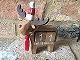 Rudi Rentier Tage bis Weihnachten Countdown Kalender Block