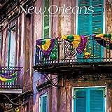 New Orleans 2019 - 18-Monatskalender mit freier TravelDays-App: Original BrownTrout-Kalender