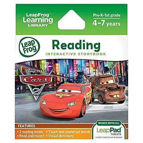 LeapPad – Cartouche Ultra eBook – Disney Pixar Cars 2 – Version Anglaise (Import Royaume-Uni)