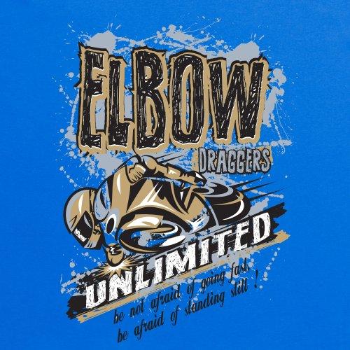 Elbow Draggers Unlimited T-Shirt, Herren Royalblau